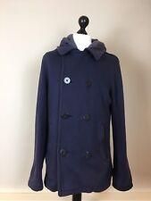 Ralph Lauren Denim and Supply Pea Coat Trench coat/jacket with hood-Large