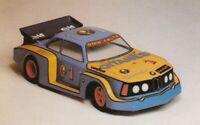"""0098 - Carrozzeria Body RC 1/8 VINTAGE """"BMW"""" +ALETTONE  295mm"""