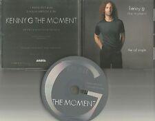 KENNY G This Moment w/ RARE EDIT 1996 USA PROMO Radio DJ CD Single ASCD 3260