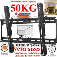 FIXED TV WALL BRACKET MOUNT FOR 26 30 32 40 42 50 55 INCH 3D LCD LED PLASMA