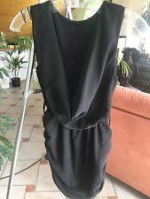 Madonna Bluse schwarz Größe XS