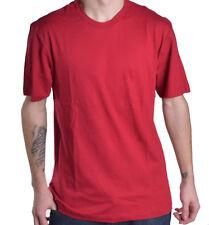 Alfani Men's Basic Red Crew Neck Tee Shirt