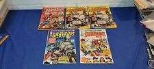 skywald 5 Westerns The Bravados 1, 2X2, 3 Sundance Kid 1 Shipping Included