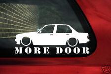 BMW E30 4dr Saloon más Puerta Adhesivo para 318i,320, 325i