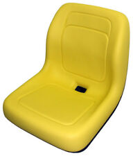"YELLOW SEAT FITS JOHN DEERE 5105 & 5205 FARM TRACTORS  ""MADE IN USA "" #BV"
