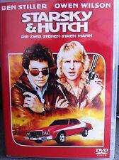 BEN STILLER OWEN WILSON STARSKY & HUTCH 2004 ACCIÓN COMEDIA Alemán DVD