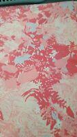 Pink Animal King Flat Sheet Vintage 105x107 Fabric Project Damaged Crafts Fabric