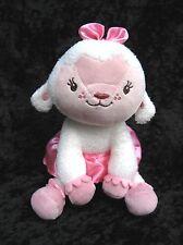 "Disney Doc McStuffins Lambie Lamb White Pink Plush Stuffed Animal 7"""