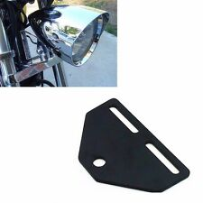 Bottom Mount Headlight Bracket Adapter for Harley Honda Kawasaki Suzuki Yamaha