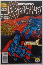 Comic Proyecto Exterminio,Stan Lee ,Numero 6,Marvel ,Factor X,1992