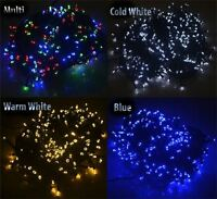 New 400 LED String Fairy Lights Indoor-Outdoor Christmas Garden Tree Wedding