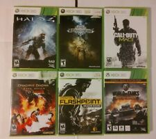 Xbox 360 video games lot