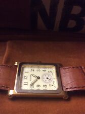 NEW Vintage 15 Jewel ALLENBY & CO Savannah Watch Swiss Movement Leather Band