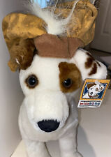 """New listing 12"""" Wishbone Romeo Plush Dog Jack Russell Terrier Tags Hard To Find"""