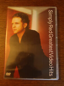 DVD Simply Red Greatest Video Hits 54212