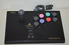 Hori Sony Playstation 1 Ps1 Fighting Stick PS - HPS-07 Fight Arcade Tested Works