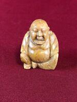 CHINA - ANTIKE ORIENTALISCHE STEIN-SCHNITZEREI BUDDHA