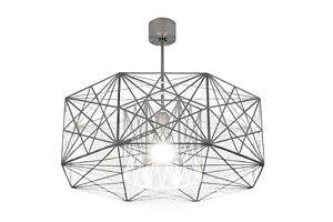 Ceiling Light Modern Industrial Geometric Handmade Designer MYSTIC ROSE Lamp