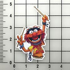 "Muppets Animal 5"" Tall Vinyl Decal Sticker BOGO"