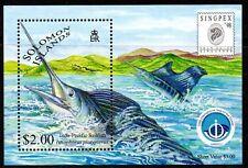 BLOC SALOMON TAIWAN 1998 POISSON ESPADON SHEET SOLOMON ISLANDS MNH SWORDFISH