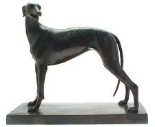 More details for greyhound figurine bronze sculptures dog bronzes greyhound bronzes