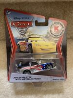 Mattel Disney Pixar Cars 2 JEFF GORVETTE Metallic Car Silver Racer Series Kmart