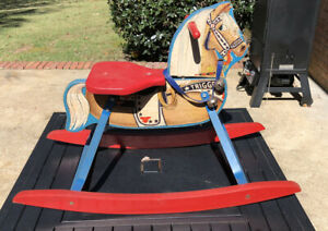Roy Rogers Trigger Rocking Horse NN Hill Brass Co.