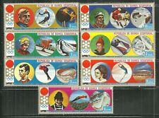 EQUATORIAL GUINEA MNH OLYMPIC SKING