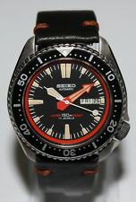 Premium SEIKO 6309-729A Vintage Dive Watch Custom Patina Dial Automatic