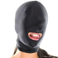 Bondage Blindfold Roleplay Games Full Head Hood Fetish Open Mouth Black Sex Toys