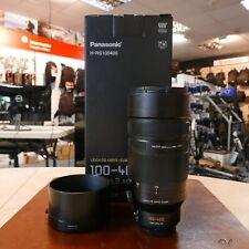 Used Panasonic Leica DG Vario Elmar 100-400mm f4-5.6 Lens - 1 YEAR GTEE