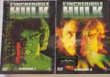 Dvd L'INCREDIBILE HULK - *** Stagione 1 & 2 Box 10 Dvd *** ..NUOVO