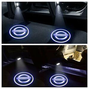 4PC Car Logo Door Lights Projector Laser Light For Nissan New Teana 2013--2014