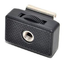 "Jjc Msa-8 1/4""-20 threaded socket to ""cold"" universal flash shoe adapter"