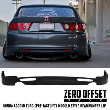 ZERO OFFSET HONDA ACCORD EURO CL9 MODULO STYLE REAR LIP 03-05