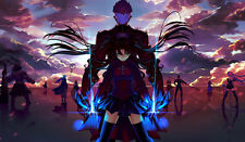464 Fate/stay night: Unlimited Blade Works CUSTOM ANIME PLAYMAT FREE SHIPPING