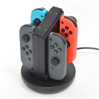 For Nintendo Switch Joy-Con Charging Dock Station Charger with LED indication