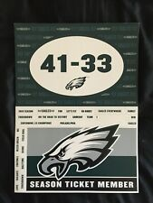 Philadelphia Eagles Magnetic Words Set - Fridge & Car