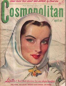 1946 Cosmopolitan April-Pearl S Buck and her daughter;Edna Ferber;Women who work