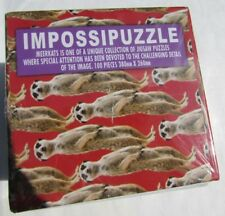 Nwt Impossipuzzle Meerkats 100-Piece Challenging Jigsaw Puzzle Sealed Box