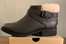 UGG BENSON BOOT II 1108130 STOUT WOMAN'S BOOTS, LEATHER SIZE 9.5, NEW AUTHENTIC