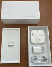 iPhone 6 Original Box & New Accessories, Charger, Usb Lightning Cable, EarPods