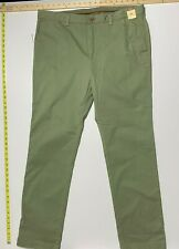 Tommy Bahama Chino Pants - Green -Stretch Cotton Blend - 38X34