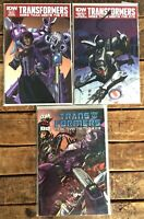 Transformers More than Meets the Eye #5,42-43 **THREE ISSUE LOT** (IDW 2012) NM