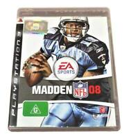 Madden NFL 08 Sony PS3