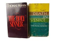 Lot of 2 Vintage Paperbacks by Thomas Mann THE HOLY SINNER & DEATH IN VENICE