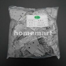 1000PCS NEW TO-220 M3 Insulating Pad Sheet Insulation Film strip 3MM RoHS 13*18
