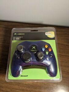 New Sealed Blue Oem Genuine Microsoft Original Xbox Controller S X09-56608-01