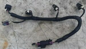 06-10 Pontiac Solstice 2.4 Fuel Injector Wire Connector Harness w Wire Pigtail