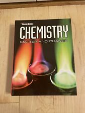 Chemistry: Matter & Change, Student Edition Glencoe Science 2008 Hardcover Book
